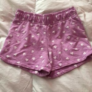 Other - Girls shorts with hearts